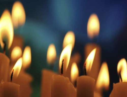 Чистка негатива свечой